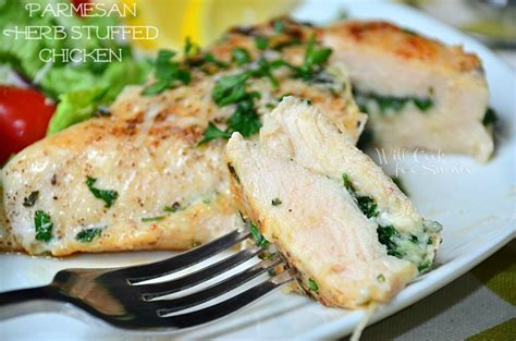 swinging chicken recipe parmesan and herb stuffed chicken will cook for smiles