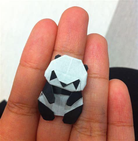 3d Origami Panda Tutorial - origami origami panda royalty free stock image image