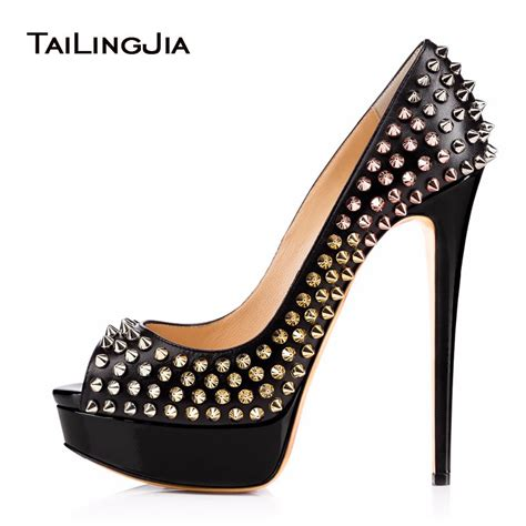 high heels with studs buy high heel pumps 2017 studs