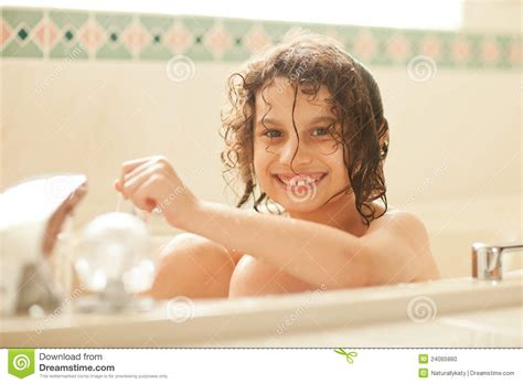 girl in a bathtub young girl in a bath tub stock photo image 24065880