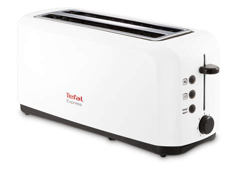 Tefal Toasters Tefal Grille Pain 2 Longues Fentes Express Blanc