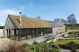 Build House Open Plan Home With Glazed Walls Self Build Co Uk