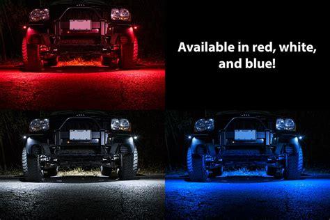 Waterproof Off Road Led Rock Light Kit 8 Led Rock Lights Rock Lights