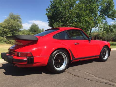porsche 930 turbo engine 1986 porsche 930 turbo coupe us car engine out