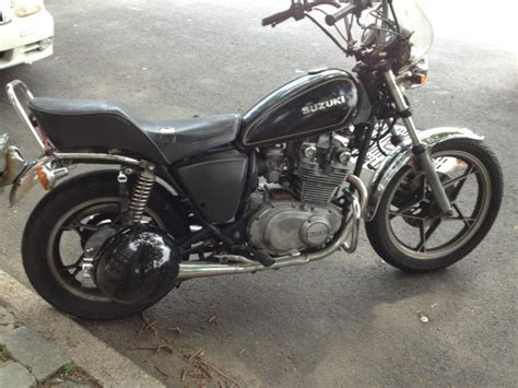 1981 Suzuki Gs450l Motorcycle Suzuki Gs 450 L 1981 For Sale For Sale On 2040motos