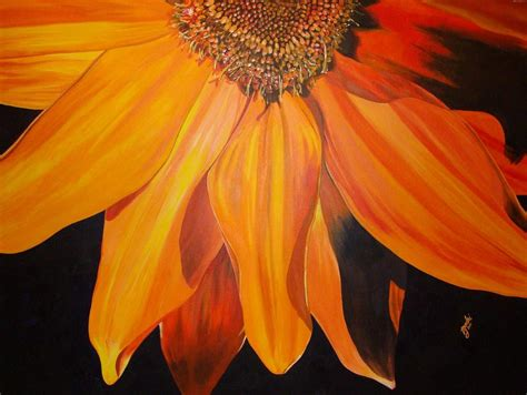 hues of orange orange hues painting by tracie godri