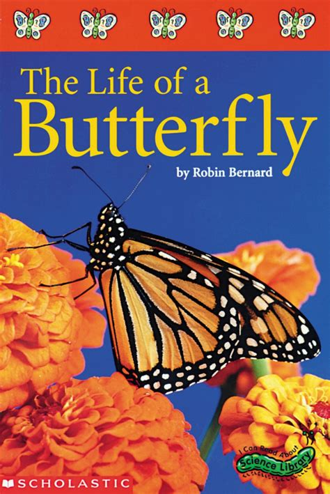 lifespan of a the of a butterfly by robin bernard scholastic