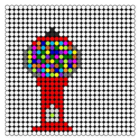 food perler bead patterns gumball machine perler bead pattern bead sprites food