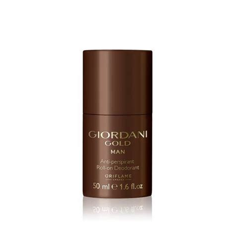 oriflame giordani gold anti perspirant roll on