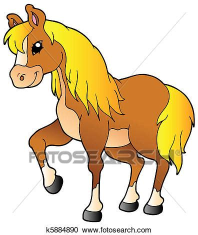imagenes vectores de caballos clipart caricatura ambulante caballo k5884890 buscar