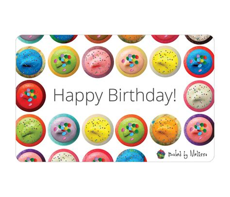 Birthday E Gift Cards - happy birthday e gift card baked by melissa