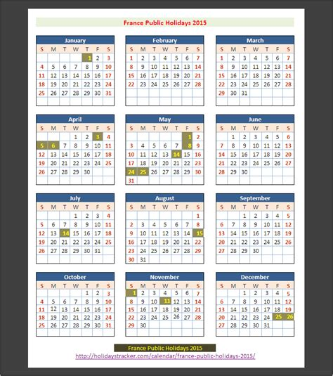 france public holidays  holidays tracker