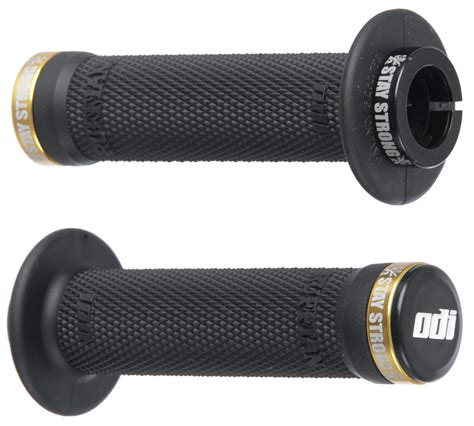 Livery Grips High Flange Blue bmx parts griffe grips