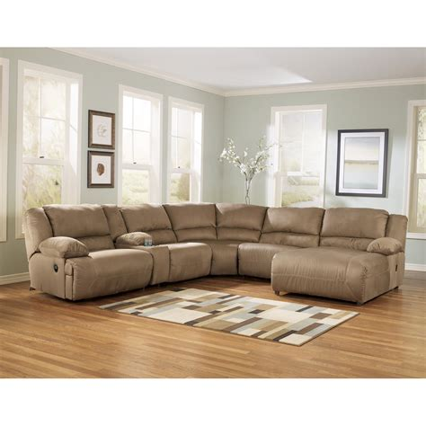 signature design sectional signature design by ashley hogan chaise sectional atg stores