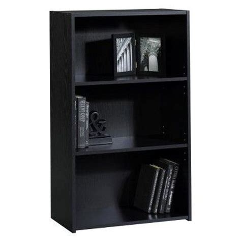 room essentials 3 shelf bookcase room essentials 174 3 shelf bookcase black