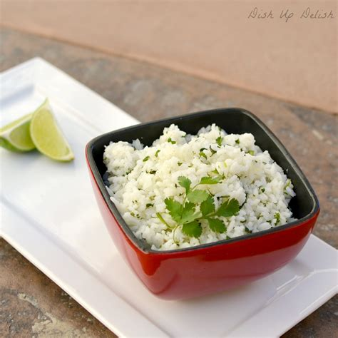 rice dish cilantro lime rice dish up delish