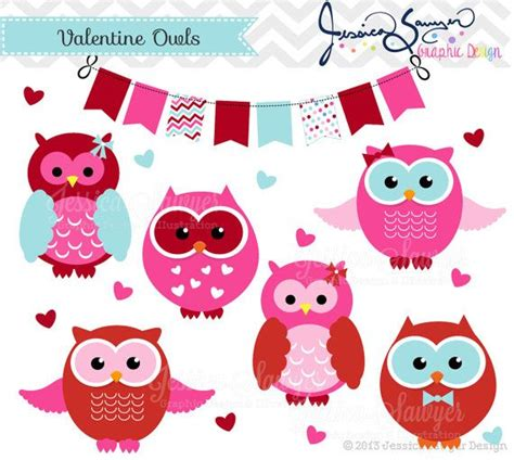 owl valentines day instant owl clipart s day