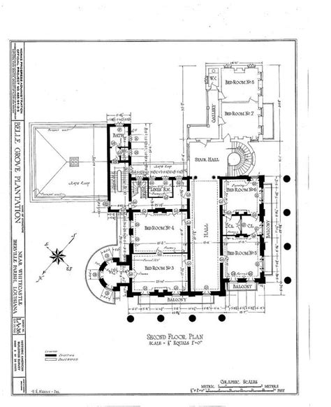 plantation floor plans 1857 grove plantation mansion white castle louisiana second floor plan architecture