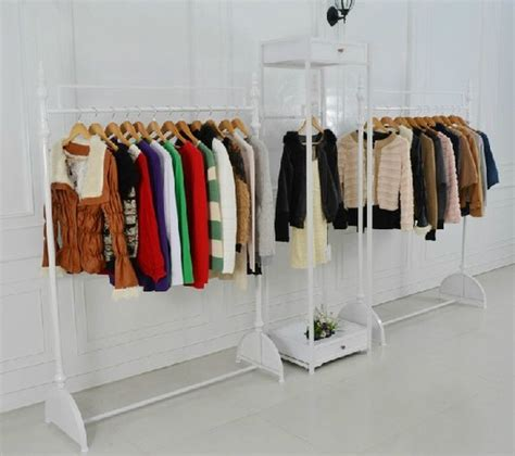 Store Racks For Clothing by Iron Clothing Store Display Racks For Hanging Clothes Rack