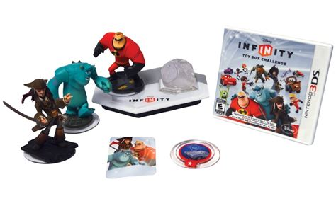 infinity 3ds disney infinity 1 0 starter pack for nintendo 3ds groupon
