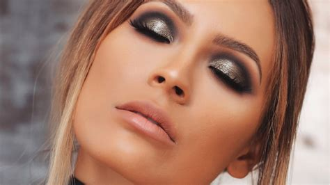 tutorial desi perkins gunmetal smokey eye desi perkins youtube