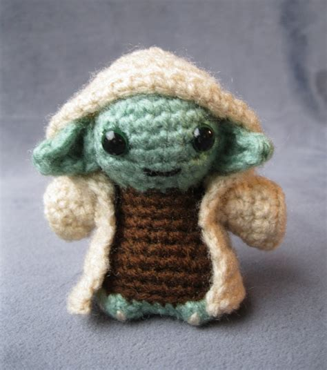 pattern crochet yoda pdf of yoda star wars mini amigurumi pattern