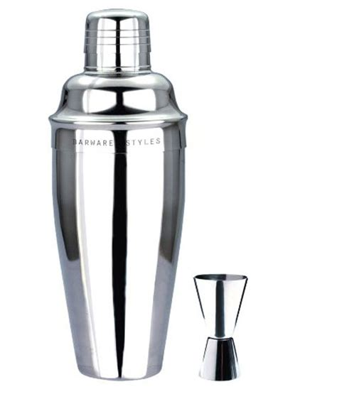 stainless steel barware barware styles stainless steel cocktail shaker buy online at best price in india