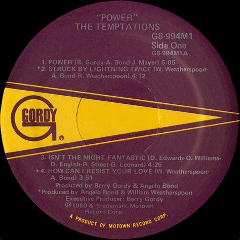 Piringan Hitam Vinyl The Temptations Power the temptations power vinyl album covers