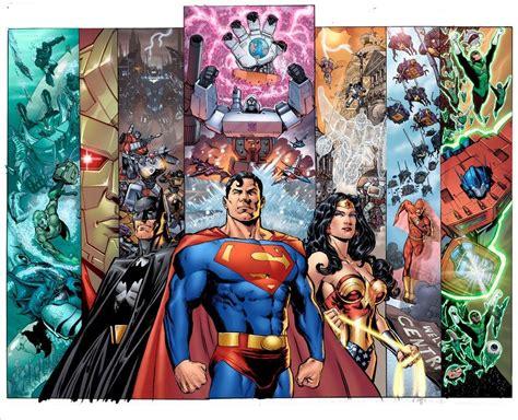 editrici americane justice league fumetti il crossover tra justice league e