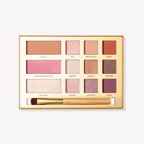 Grav3yardgirl Sw Palette limited edition sw eye cheek palette with brush tarte cosmetics