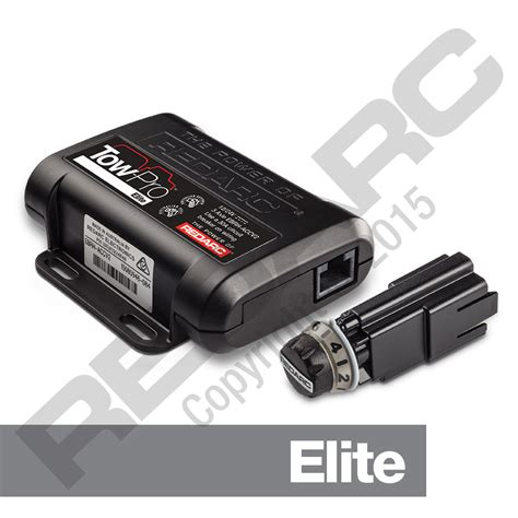 electric trailer brake controller tow pro elite redarc