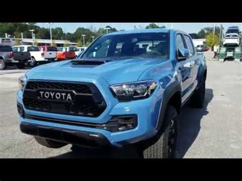 2018 toyota tacoma trd pro new cavalry blue youtube