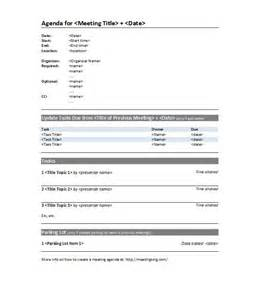 agenda template docs doc 610790 professional meeting agenda template free