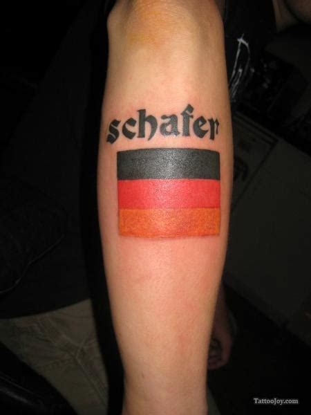 german flag tattoo german flag for football tattoomagz