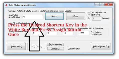 murgee auto mouse click registration key