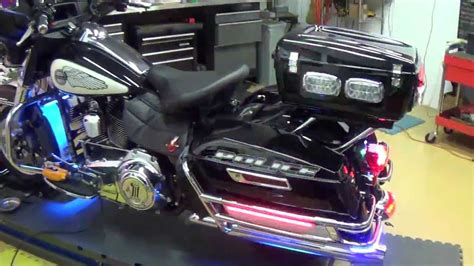 police motorcycle emergency lights delray beach police motorcycle light by chrome glow youtube