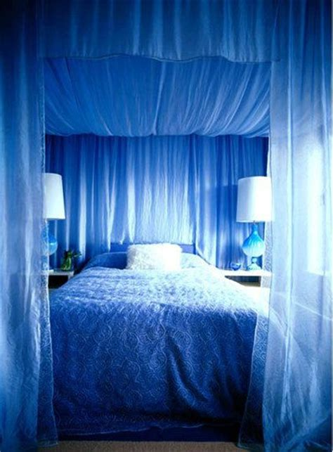 blue bed canopy blue sleep nesting zzzz pinterest