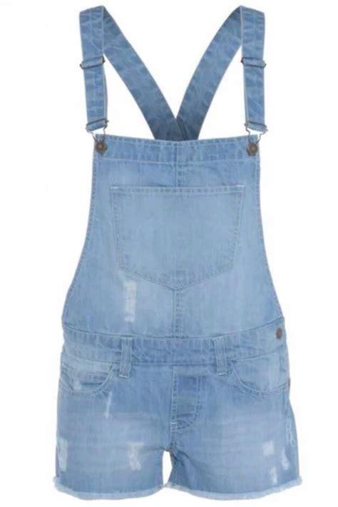 Jumpsuit Overall 13 denim cross back buckle dungaree shorts dress