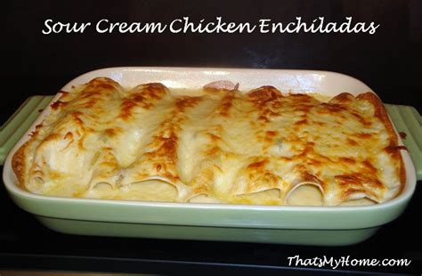 Sour Cream Enchilada Recipe Food Network
