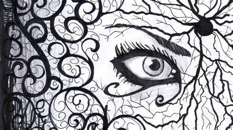 doodle eye sketches abduzeedo