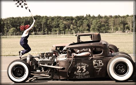 hot rod vs rat rod taringa