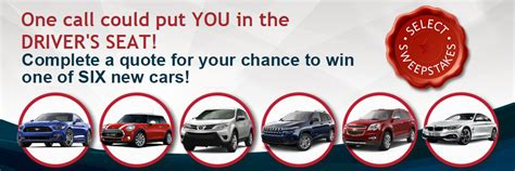Win A Car Sweepstakes Phone Call - we re giving away 6 cars this year