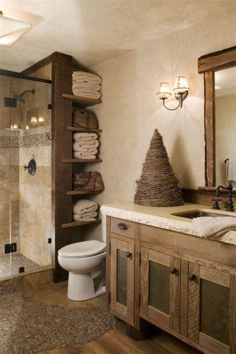 badgestaltung mit holz und naturstein wandputz effekt