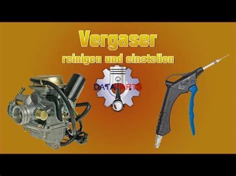 Roller Vergaser Reinigen Ohne Ausbau vergaser reinigen und einstellen