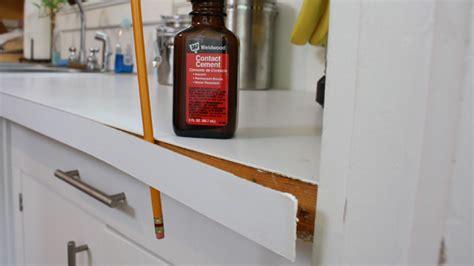 Repair Laminate Countertop by 815 Ad How Reattach Plastic Laminate Countertop Edging