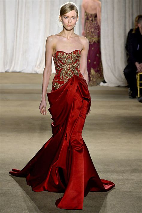 Catwalk To Carpet Nicky In Marchesa by Marchesa Ayesha Gougouehi