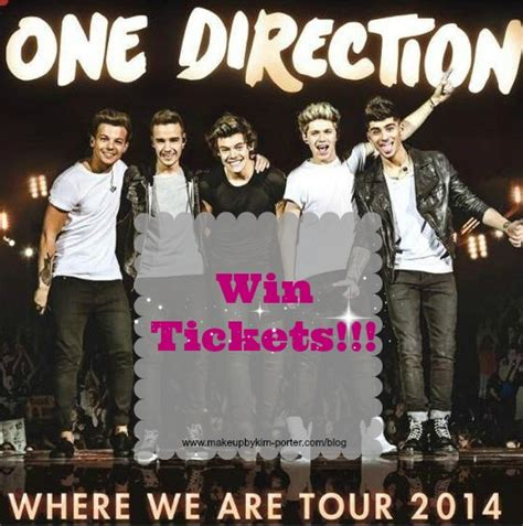 One Direction Ticket Giveaway - one direction where we are tour giveaway