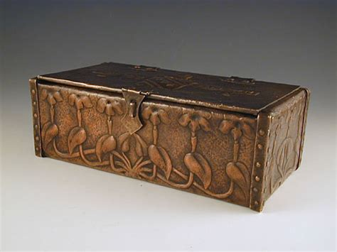 arts and crafts box for arts crafts copper box
