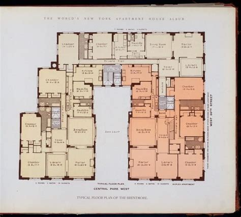 10 York Floor Plans 10 elaborate floor plans from pre wwi nyc apartments