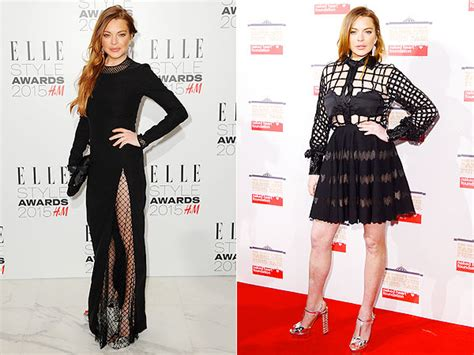 Lindsay Lohan Has Plans For Future Wedding Gown by Lindsay Lohan Wears Two Dresses At Back To Back
